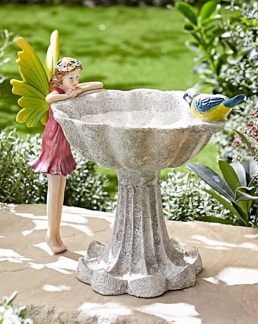 Garden Fairy Bird Bath Ambrose Wilson