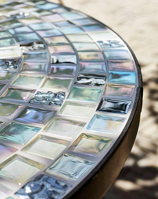 Canterbury Mosaic Metal Bistro Set