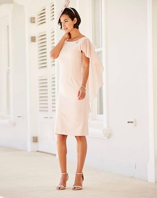 joanna hope brooch trim dress j d williams. Black Bedroom Furniture Sets. Home Design Ideas