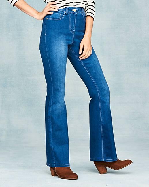 Kim High Waist Bootcut Jeans Long Marisota