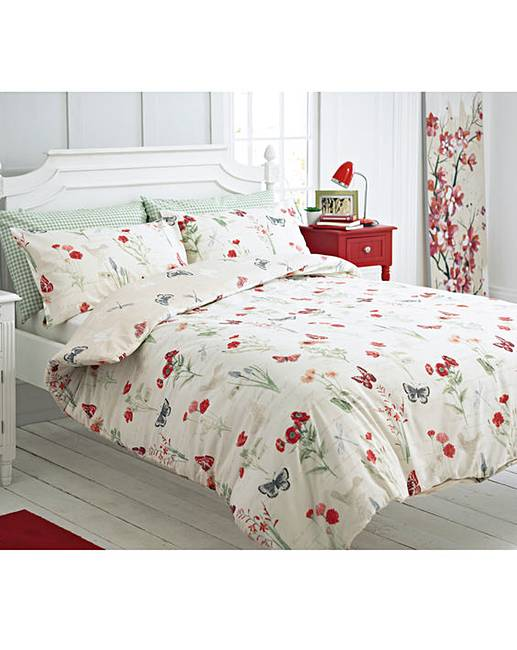 Country Journal Duvet Cover Set One Get Free