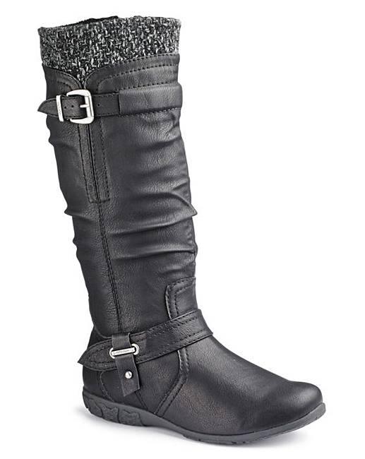 new concept 1e4da af01a Stivali con Gambale Largo XXL per donne Curvy & Plus Size