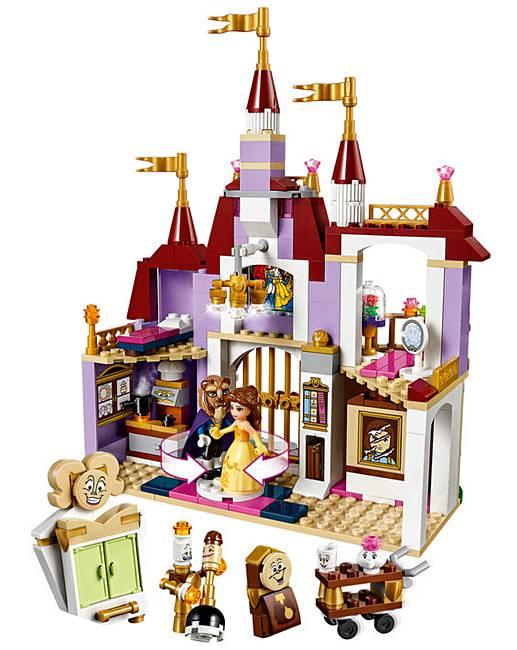 Lego disney belle 39 s enchanted castle fifty plus - Plus belle construction lego ...