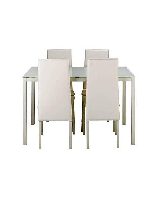 Hygena Dining Table amp 4 White Chairs J D Williams : ej31982 4876821 asa170x from www.jdwilliams.co.uk size 517 x 650 jpeg 23kB