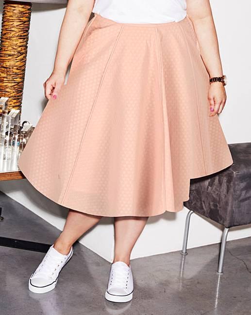 image of Sprinkle of Glitter Jacquard Skirt