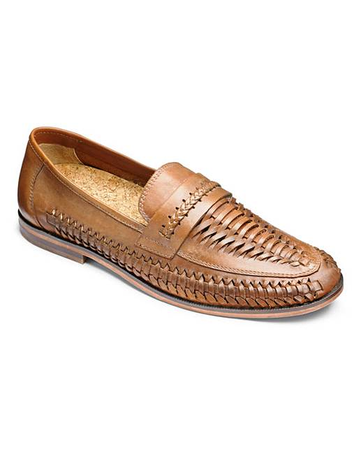 Trustyle Leather Slip On Shoes