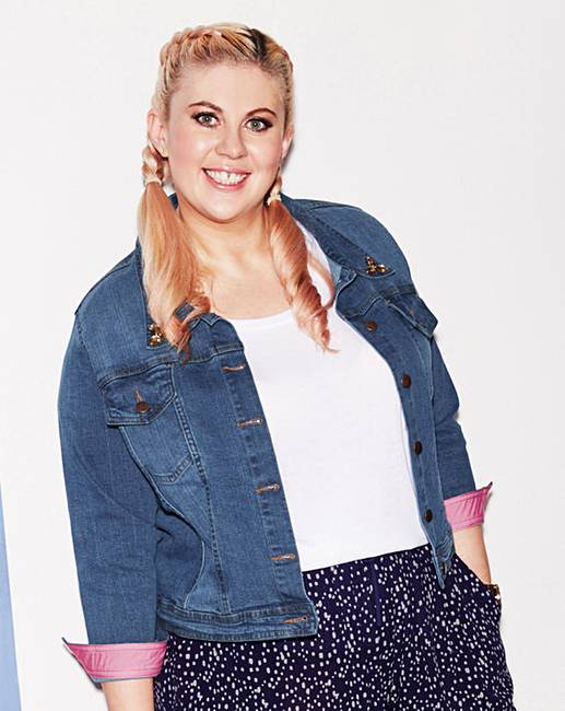 photograph of Sprinkle of Glitter Denim Jacket