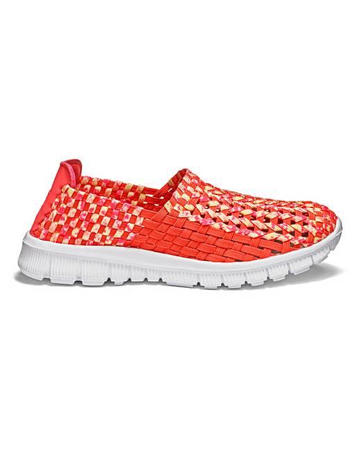 cushion walk stretch slip on shoes e fit marisota
