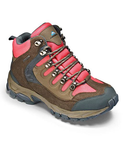 snowdonia waterproof walking boots e fit fifty plus