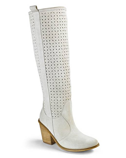 heavenly soles knee high boots e fit j d williams
