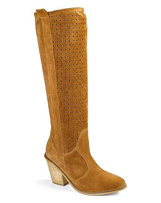 heavenly soles knee high boots eee fit marisota