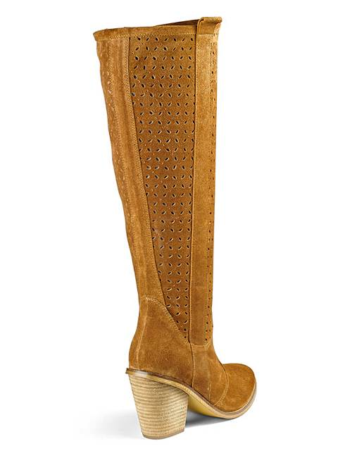 heavenly soles knee high boots eee fit j d williams