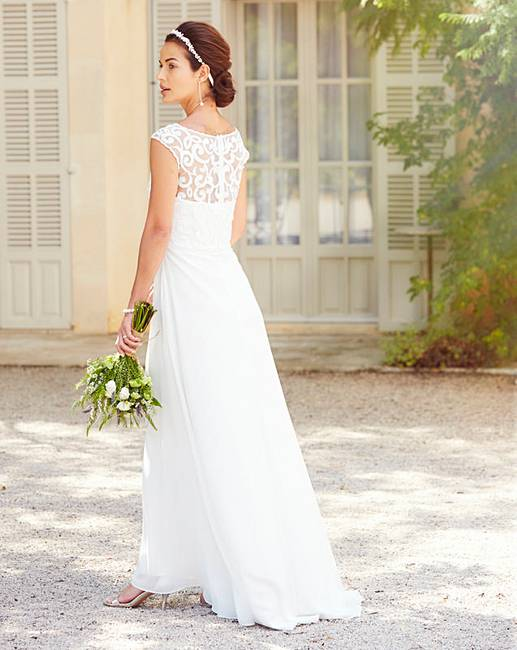 Joanna Hope Sequin Detail Dress