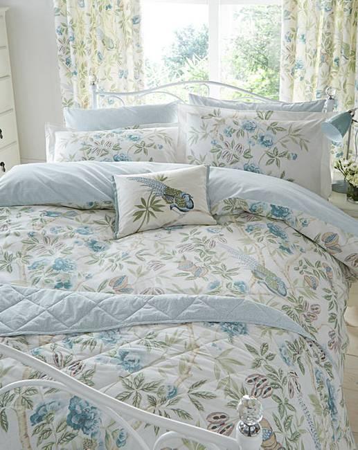 sanderson abbeville duvet cover set marisota. Black Bedroom Furniture Sets. Home Design Ideas