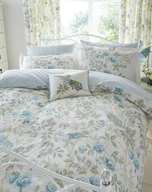sanderson abbeville duvet cover set j d williams. Black Bedroom Furniture Sets. Home Design Ideas