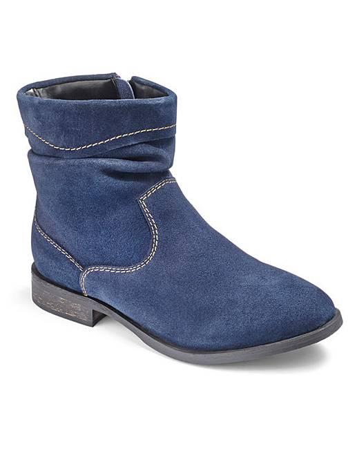 brevitt suede ankle boots eee fit fashion world