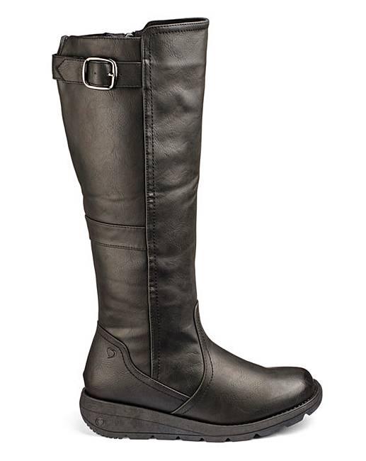 heavenly soles boots e fit standard calf fashion world