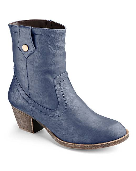 the shoe tailor ankle boots eee fit j d williams