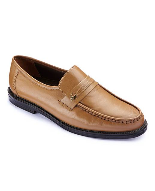 trustyle mens slip on shoes wide fit fifty plus