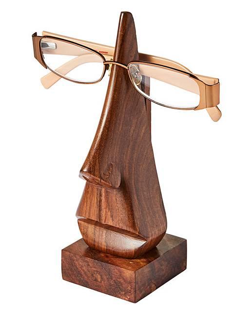 wooden glasses holder j d williams