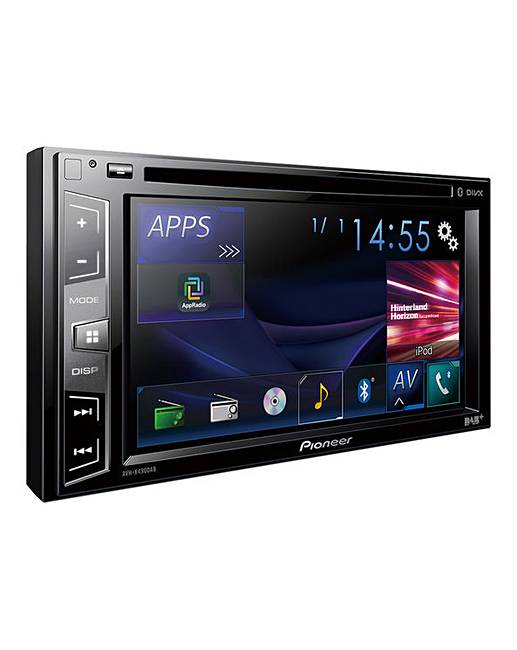 pioneer avh x490dab car stereo fifty plus. Black Bedroom Furniture Sets. Home Design Ideas