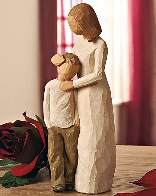 willow tree mother and son figure marisota. Black Bedroom Furniture Sets. Home Design Ideas