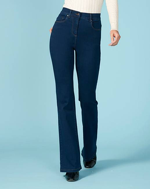 Bootcut jeans for plus size women
