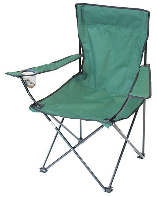 Yellowstone Folding Camping Chair Fifty Plus