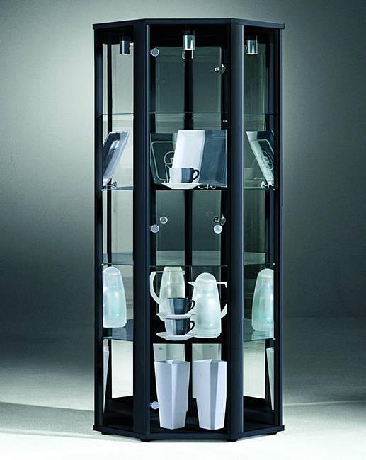 Corner Glass Display Unit