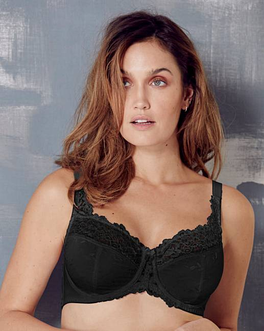 K Cup Bra Size Ruby Minimiser Wired B...