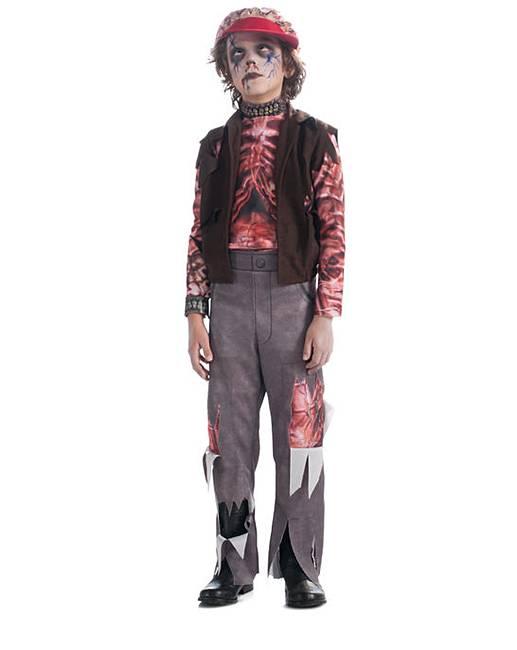 Костюм зомби на хэллоуин детский