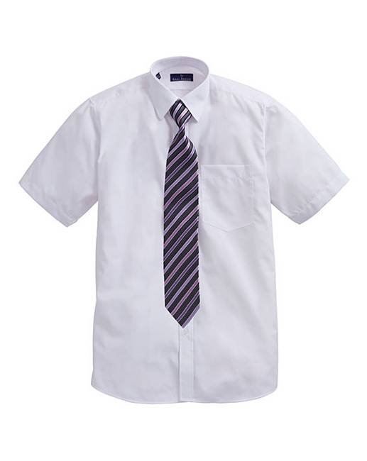 Rael Brook Boxed S S Shirt And Tie Set Crazy Clearance