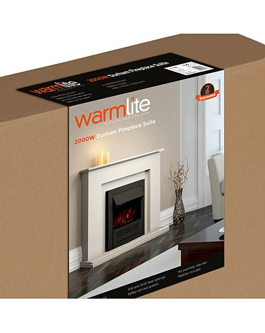 Warmlite Durham Fireplace Suite Home Beauty Gift Shop