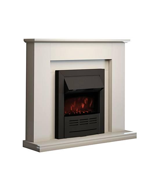 Warmlite Durham Fireplace Suite Marisota