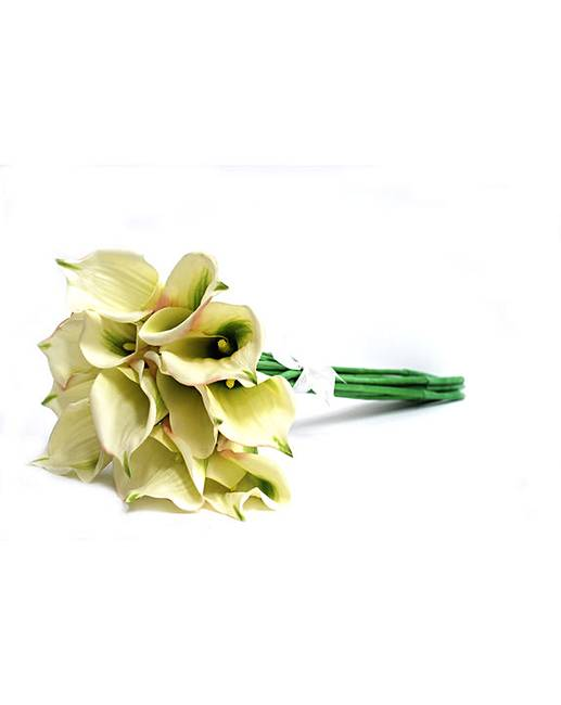 how to make artificial calla lily bouquet