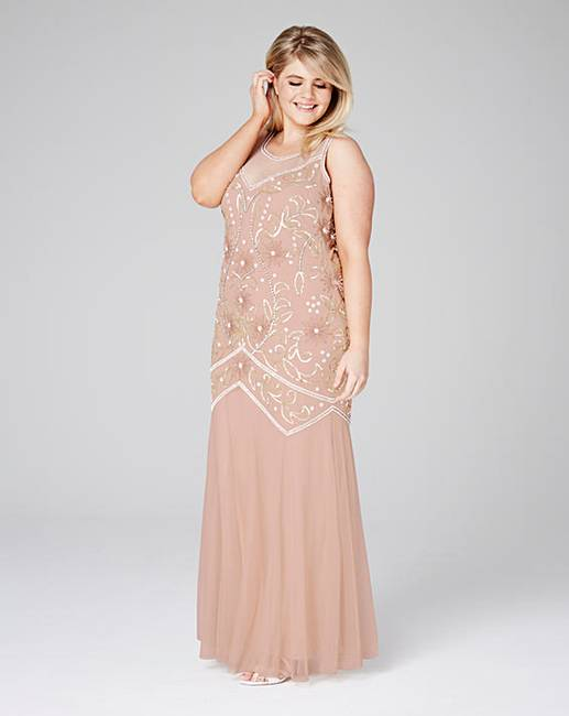 Embellished Maxi Dress | Simply Be