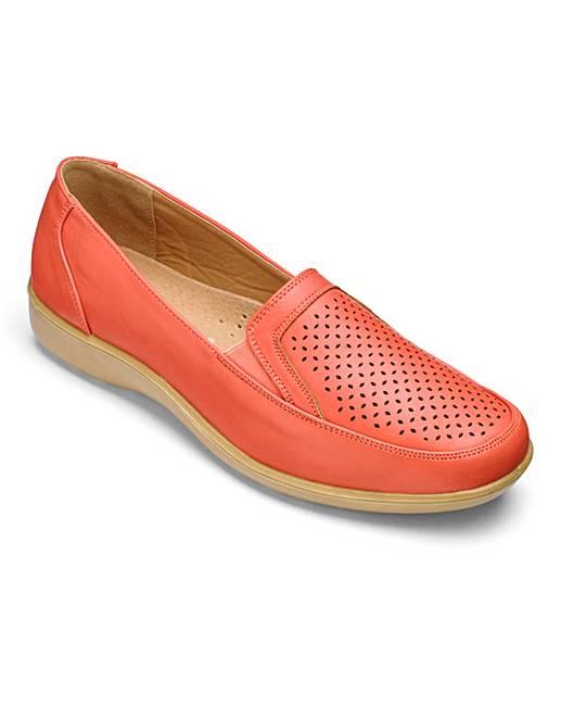 cushion walk slip on shoes eee fit j d williams