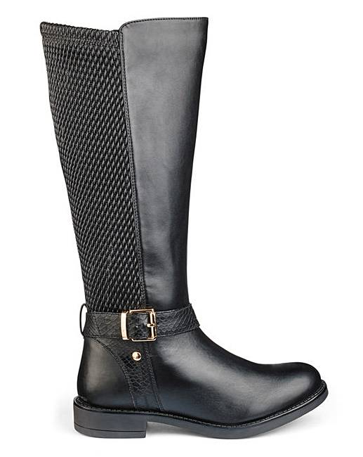 heavenly soles knee high boots e curvy oxendales