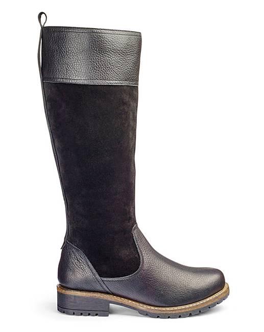 heavenly soles boots e fit curvy calf marisota