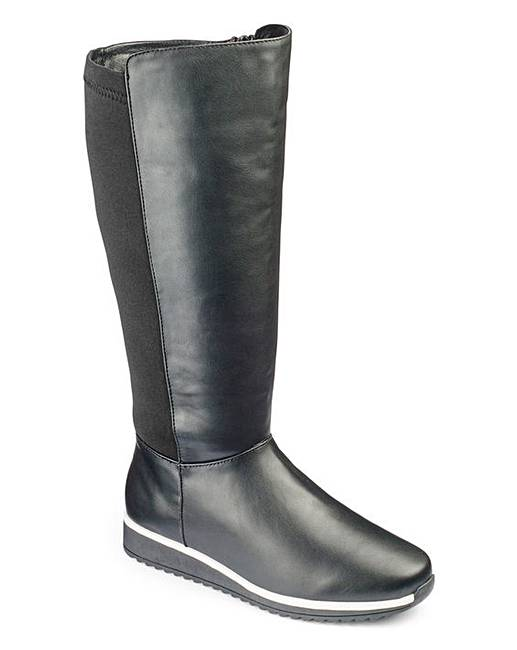 heavenly soles knee high boots e fit clearance