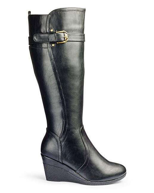 cushion walk knee high boots eee fit simply be
