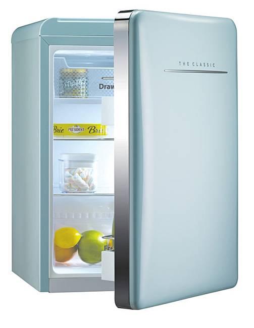 daewoo 79l retro mint fridge home beauty gift shop. Black Bedroom Furniture Sets. Home Design Ideas