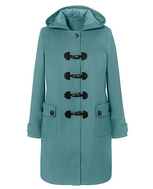 Petite Duffle Coat Length 36in | J D Williams