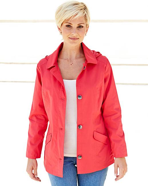 casual jacket with hood julipa