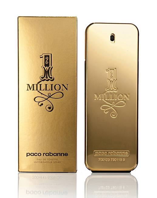 Paco rabanne one million 50ml edt jacamo for Paco by paco rabanne