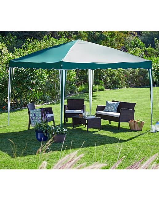 2 Metre PVC Coated Pop Up Gazebo  Fashion World