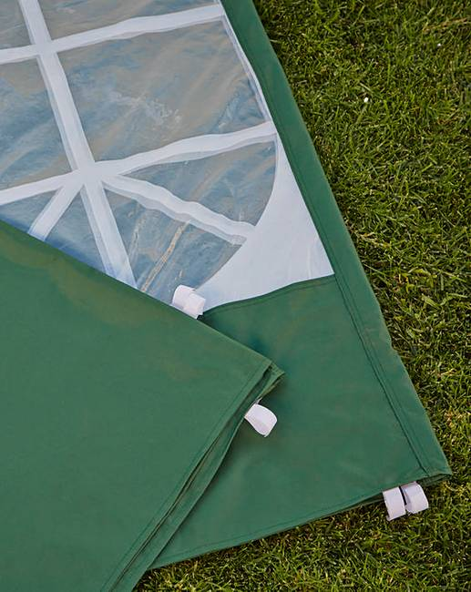 Set of 3 3m PVC Coated Gazebo Sidewalls  Ambrose Wilson