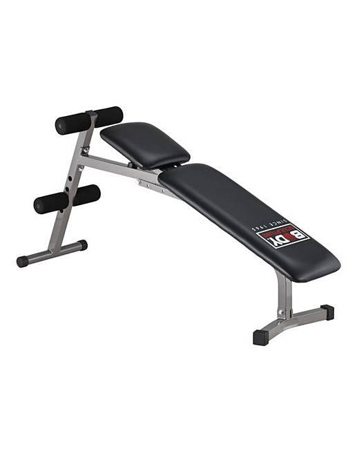 Adjustable Weights Sit Up Bench J D Williams