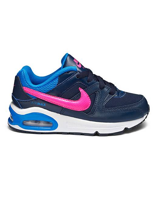 nike air max command girls ps trainers j d williams. Black Bedroom Furniture Sets. Home Design Ideas