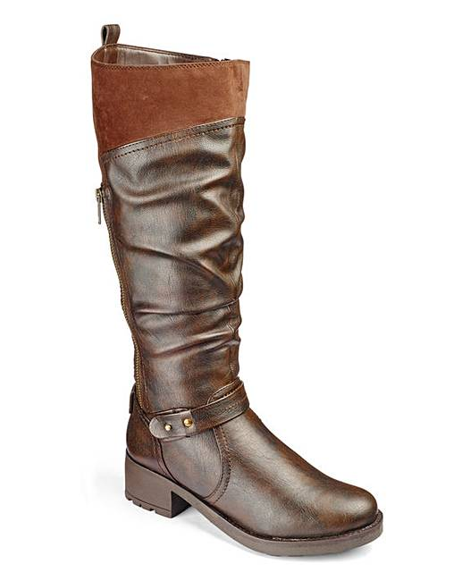 heavenly soles boots e fit standard calf fifty plus